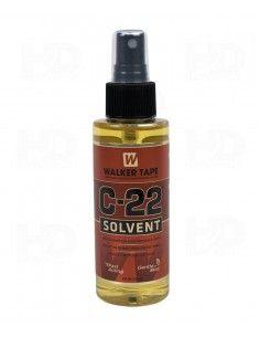 Spray remover tape hair