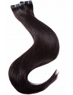 extensions noir naturel 50 cm