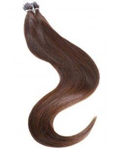 Hair Tip 101 - 25 Mèches Remy Hair marron
