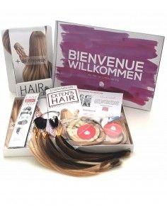 Kit Pro de découverte pour les extensions de cheveux Exten's Hair