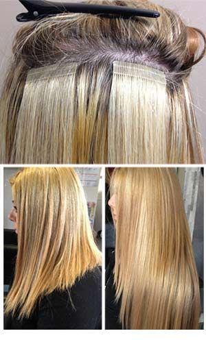 Tape Haarverlängerung 50 cm