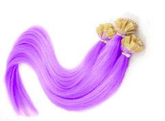 extensions cheveux violet