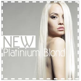 nouveau blond platine