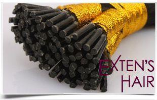 Haarverlängerung mit Extensions