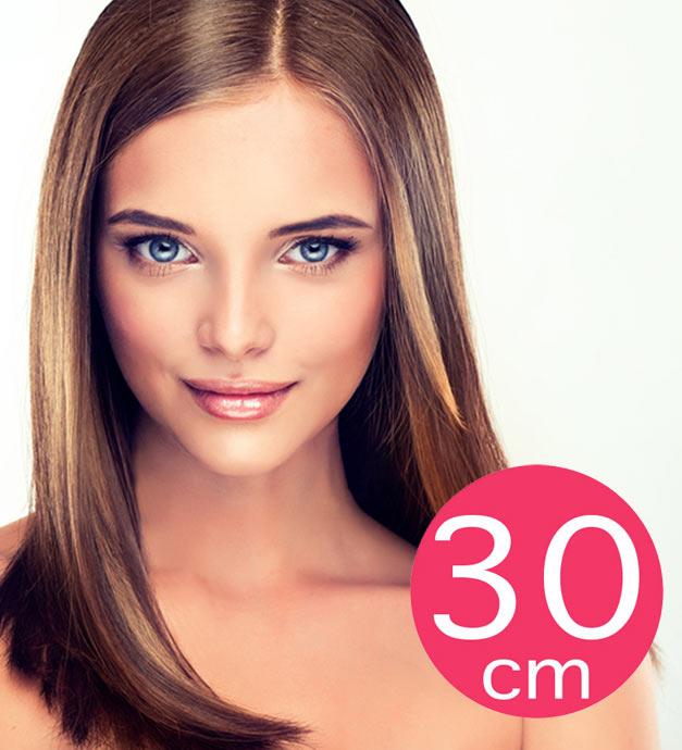 Extension de cheveux mi-longs - 30cm
