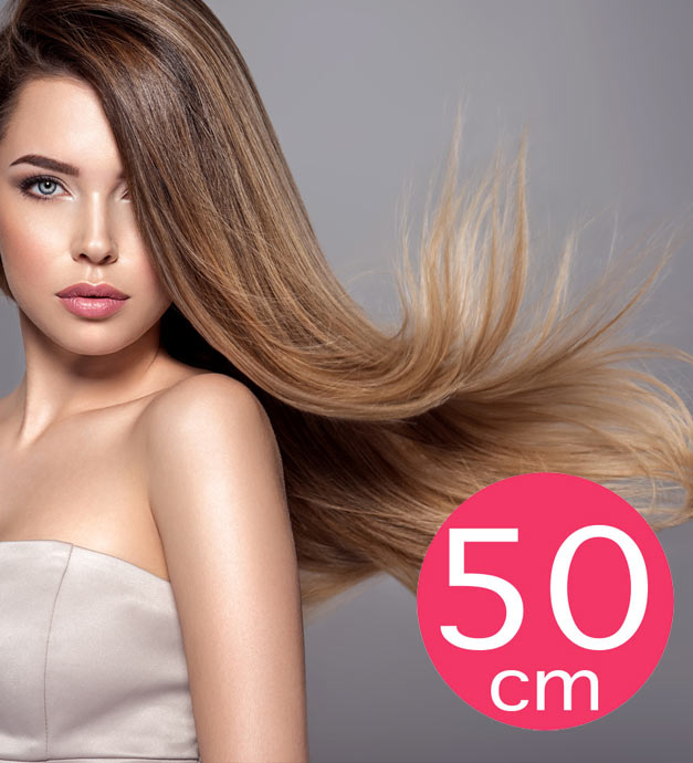 Extensions Cheveux 50cm Longs