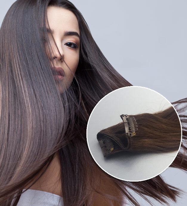 extension cheveu Clips