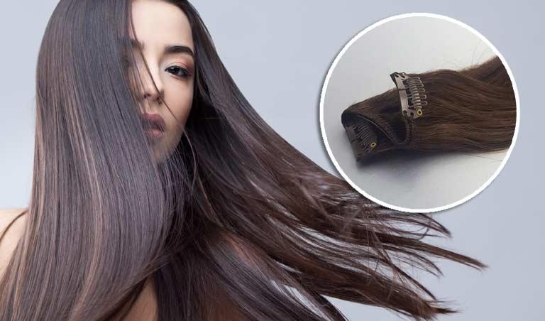 extension cheveu clip