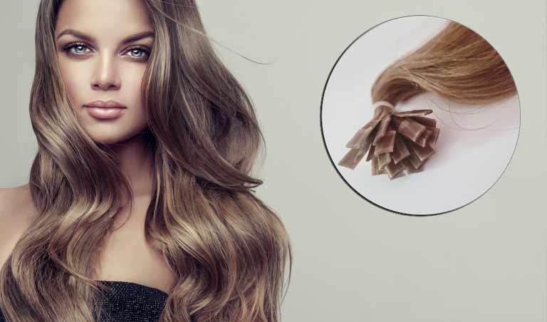 extension cheveux tape à chaud