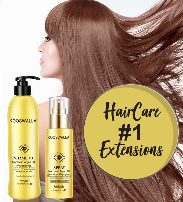 extension cheveux shampoing