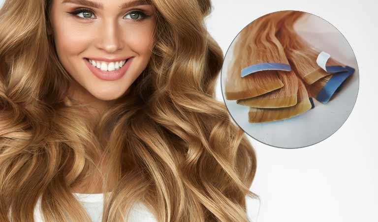 extension cheveu tape hair