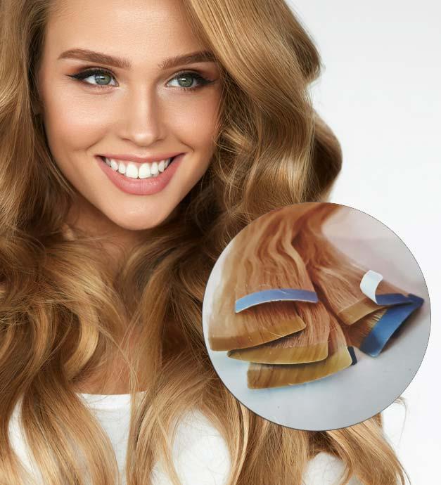 extension cheveux adhésif