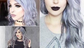 Silver Hair Extension