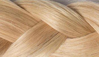 Karamellblond Haarverlängerung