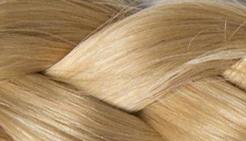 Hellblond Haarverlängerung