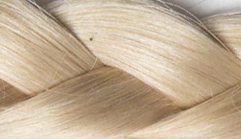 Platiniumblond Haarverlängerung
