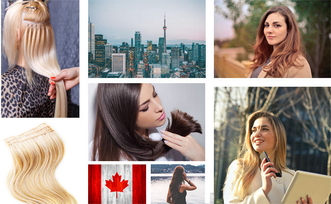 extensions cheveux canada