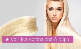 Extension de Cheveux à Clip
