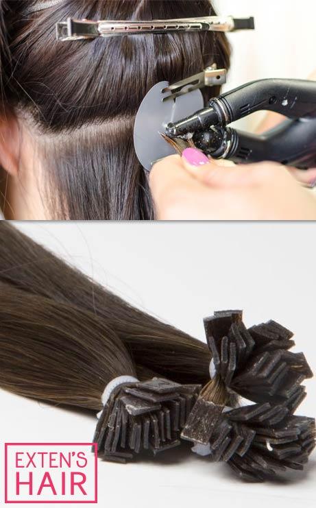 Bonding Haarverlängerungen