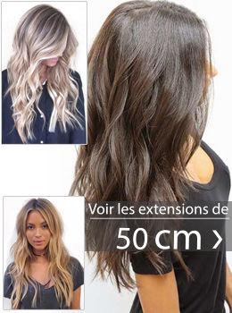extensions de cheveux 50 cm