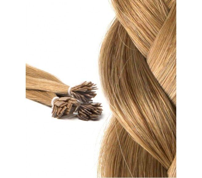 Extensions Kératine : 25 Extension à Chaud, Cheveux lisses