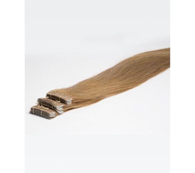 Extension Adhésive cheveux russes naturels